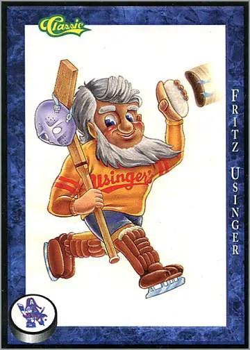 1994-95 Classic Milwaukee Admirals – The Fabulous Fritz