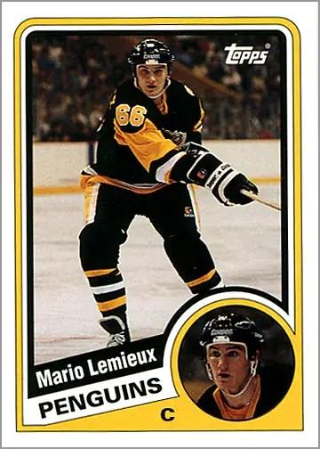 2003-04 Topps Lost Rookies #LRC-ML - Mario Lemieux