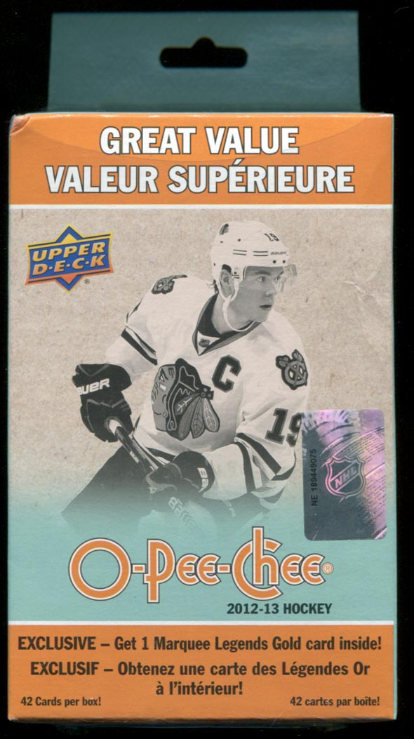"2012-13 O-Pee-Chee ""Fat Box"" break"