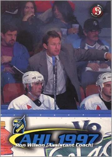 1997-987 Springfield Falcons - Ron Wilson