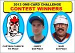 NHL Awards Contest Winners