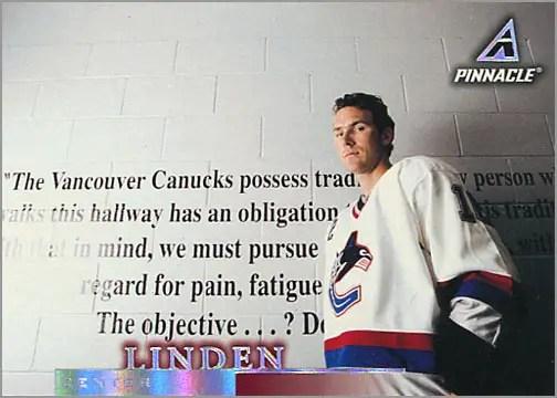 1997-98 Pinnacle #106 - Trevor Linden