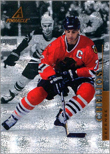 1997-98 Pinnacle Rink Collection #PP65 - Chris Chelios
