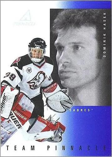 1997-98 Pinnacle Team Pinnacle #2 - Dominik Hasek & Curtis Joseph