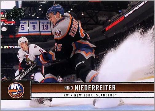 2012-13 Upper Deck #113 - Nino Niederreiter