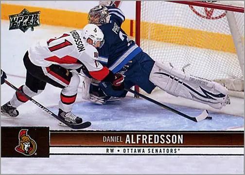 2012-13 Upper Deck #128 - Daniel Alfredsson