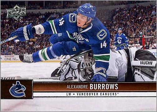 2012-13 Upper Deck #180 - Alexander Burrows