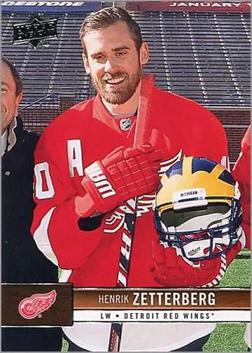2012-13 Upper Deck #63 - Henrik Zetterberg