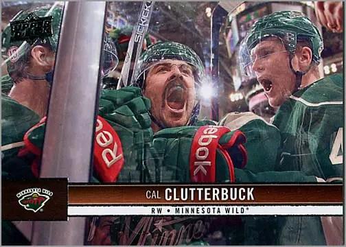 2012-13 Upper Deck #90 - Cal Clutterbuck