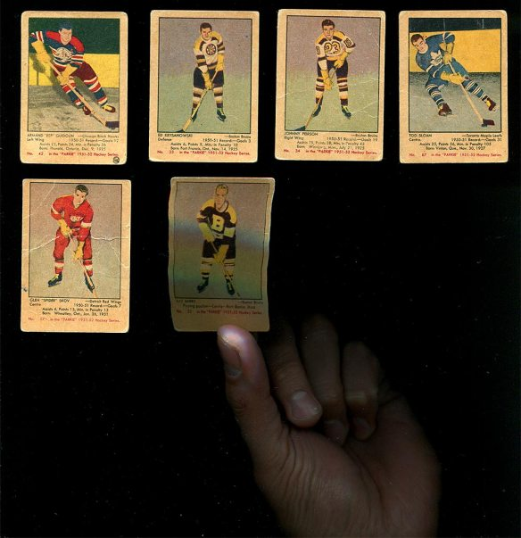 1951-52 Parkhurst Hockey Cards