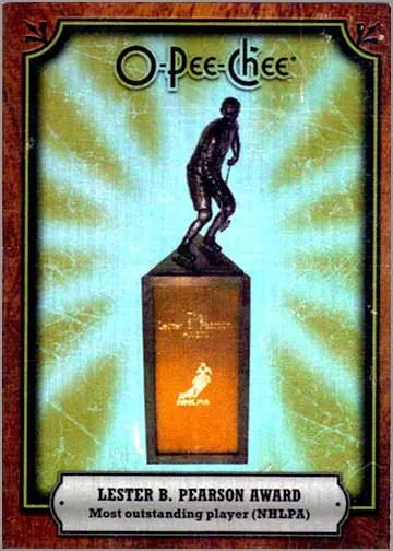2008-09 O-Pee-Chee Trophy #AWD-OV - Lester B. Pearson Trophy