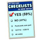 Poll Results: Do you like checklists?