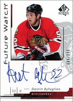 2007-08 SP Authentic #173 - Dustin Byfuglien