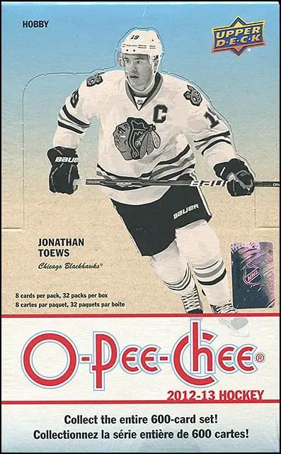 2012-13 O-Pee-Chee Hobby Box