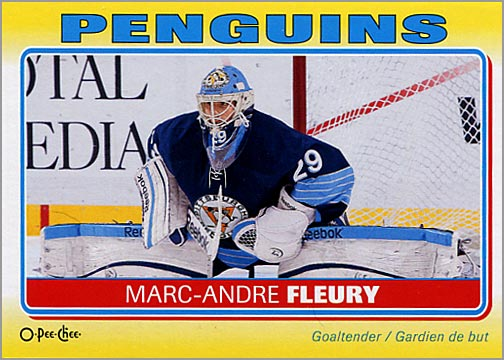 2012-13 O-Pee-Chee Stickers #S-79 - Marc-Andre Fleury