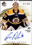 Patrice Bergeron Substitution Card