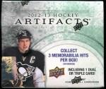 2012-13 Artifacts Box Break