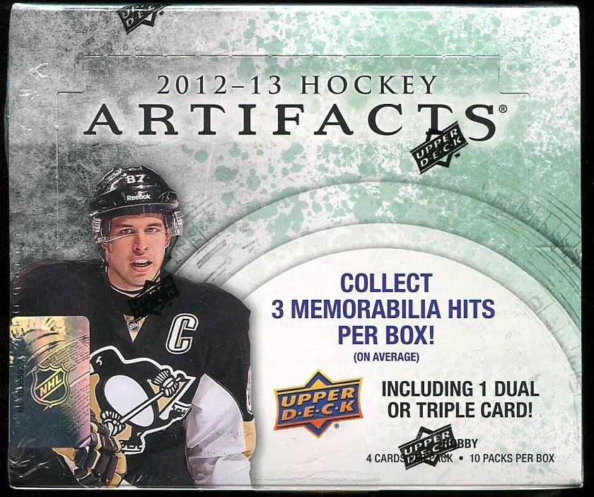 2012-13 Artifacts Box