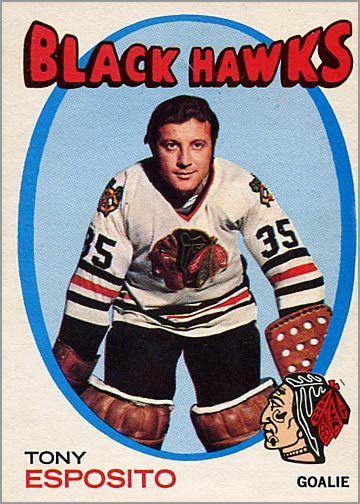1971-72 O-Pee-Chee #110 - Tony Esposito