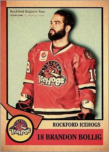 2012-13 Rockford IceHogs #18 - Brandon Bollig