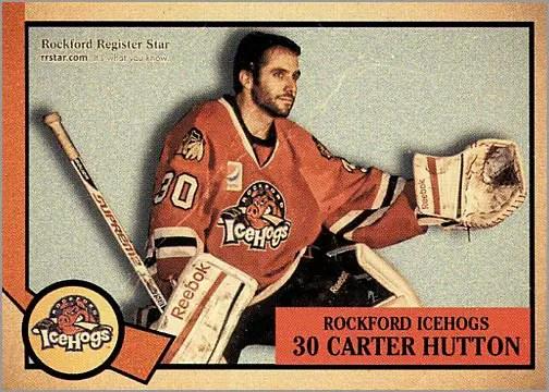 2012-13 Rockford IceHogs #30 - Carter Hutton