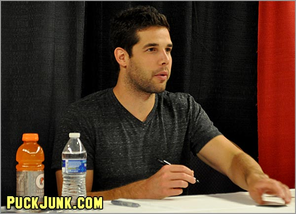 Blackhawks goaltender Corey Crawford.