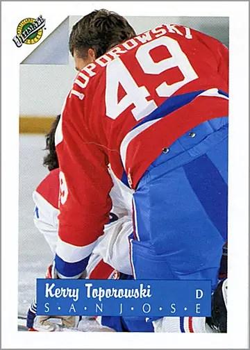 1991-92 Ultimate Draft Picks #48 - Kerry Toporowski