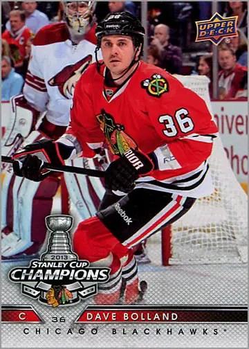 2013 Chicago Blackhawks Commemorative Box Set #2 - Dave Bolland