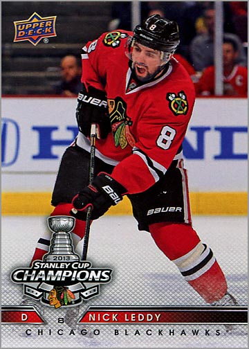 2013 Chicago Blackhawks Commemorative Box Set #15 - Nick Leddy