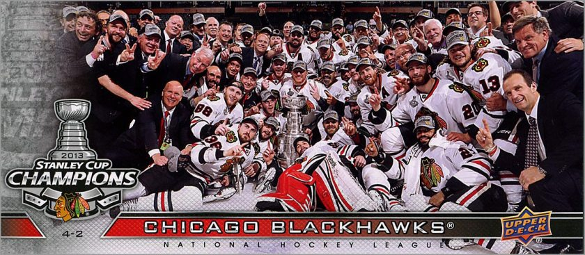 Review: 2013 Upper Deck Chicago Blackhawks Stanley Cup Box Set