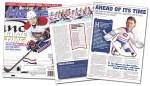 Provigo Canadiens Figurines article in November 2013 Beckett Hockey Magazine