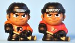 Pack Break x 4: TeenyMates Collectible NHL Figures