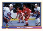 1991-92 Topps & Bowman promo sheet