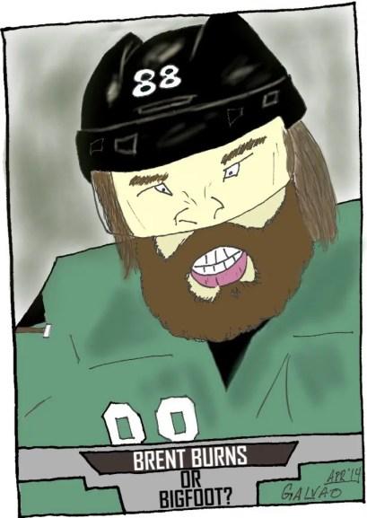 Brent Burns beard