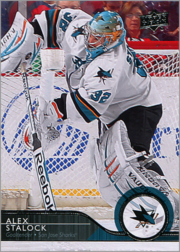 2014-15 Upper Deck #160 - Alex Stalock