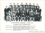 1963-64 Cleveland Barons Team Photo