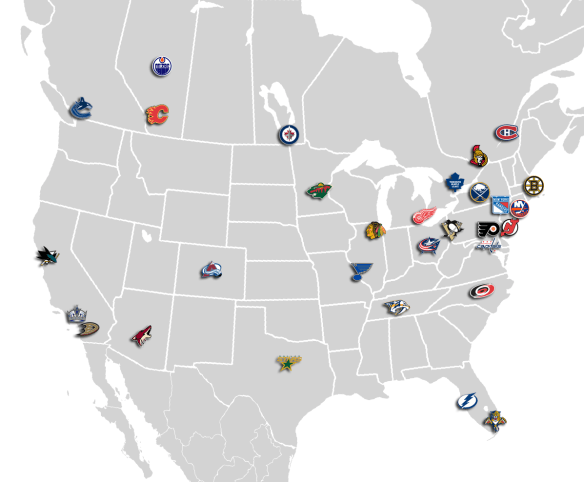 NHL_Cities_Map