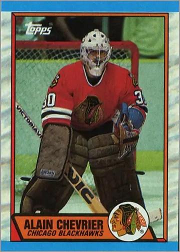 1989-90 Topps #132 - Alain Chevrier