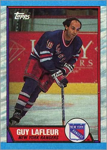 1989-90 Topps #189 - Guy Lafleur