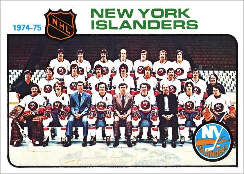 1975-76 O-Pee-Chee #92 - New York Islanders