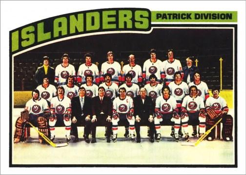 1976-77 O-Pee-Chee #142 - New York Islanders