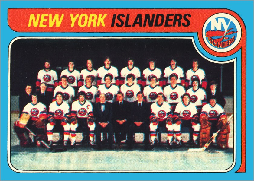 1979-80 O-Pee-Chee #253 - New York Islanders