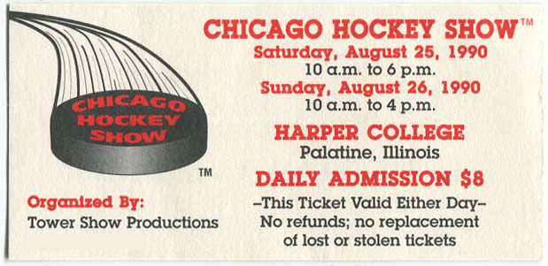 1990_Chicago_Hockey_Show_Ticket