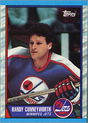 1989-90 Topps #63 - Randy Cunneyworth