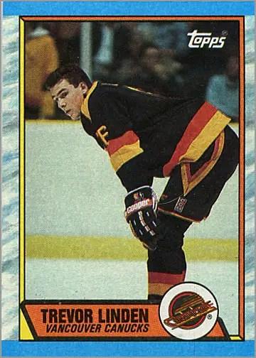 1989-90 Topps #89 - Trevor Linden