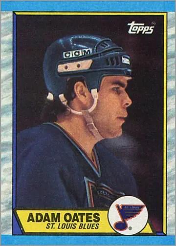 1989-90 Topps #185 - Adam Oates