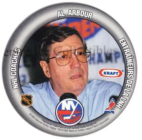 1993-94 Kraft #27 - Al Arbour (coach)