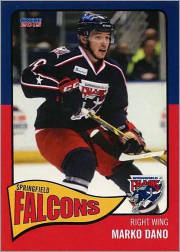2014-15 Springfield Falcons #6 - Marko Dano