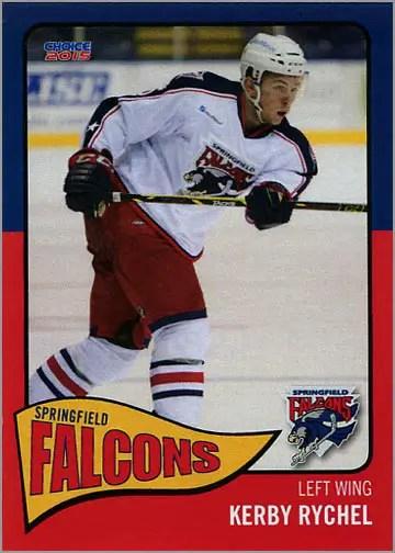 2014-15 Springfield Falcons #11 - Kerby Rychel