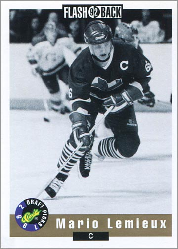 1992-93 Classic Draft Picks #66 - Mario Lemieux